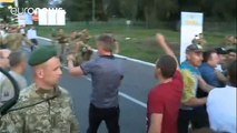 Mikheïl Saakachvili entre de force en Ukraine