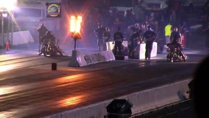 DRAG FILES: 2015 IHRA Spokane Nitro Jam Part 13 (Nitro Harley Semi Finals)