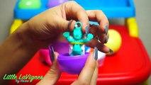 Vivant et bébé et et Oeuf gelé chasse souris pâte à modeler jouets Surprise elsa disney minnie playdough