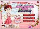 Clase clase clase cocina postre helado fresa Saras