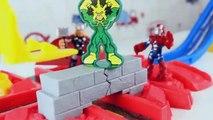 Aventures grue héros merveille Ensemble homme araignée piste piste Super capture playskool imaginext action
