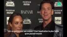 """""""Il n'y a aucun sens à tout ça"""": l'interview surréaliste de Jim Carrey à la Fashion Week de New-York"""