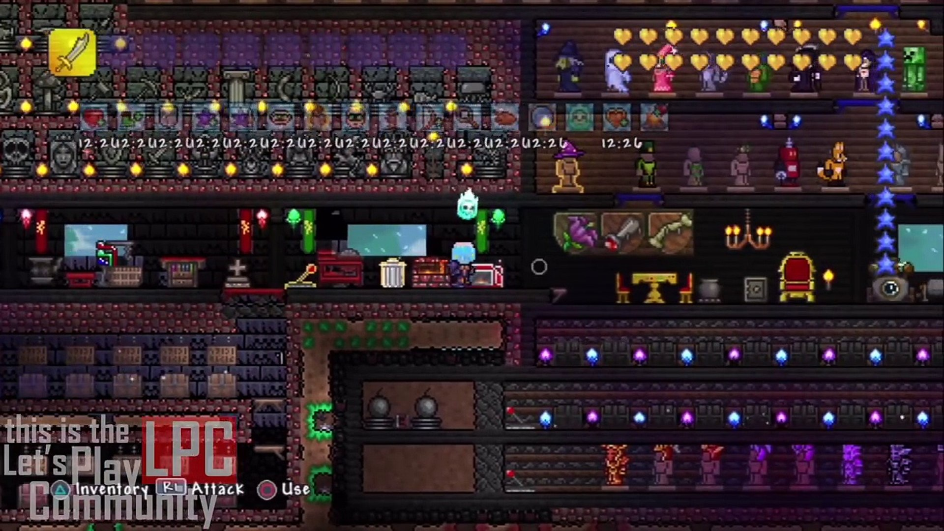 Terraria PS4 & PS3 | All Items MAP! | New! | Download Now!