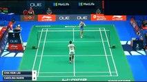 2017 LEE Chia Hsin vs Carolina Marin SPore Open R2 李佳馨 v 馬琳 新加坡羽毛球公開賽 预赛2