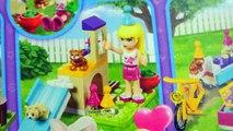 Lego Friends Party Train Ride with Season 7 Shopkins + Ride in Ferris Wheel Eggs