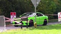 Dodge Charger Hellcat - INSANE BURNOUT & Accelerations