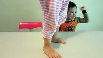 Un et un à un un à bébé des balles différent Indiana dans enfants la magie Magie tailles des sports jouet Transformer baguette magique avec Basketball