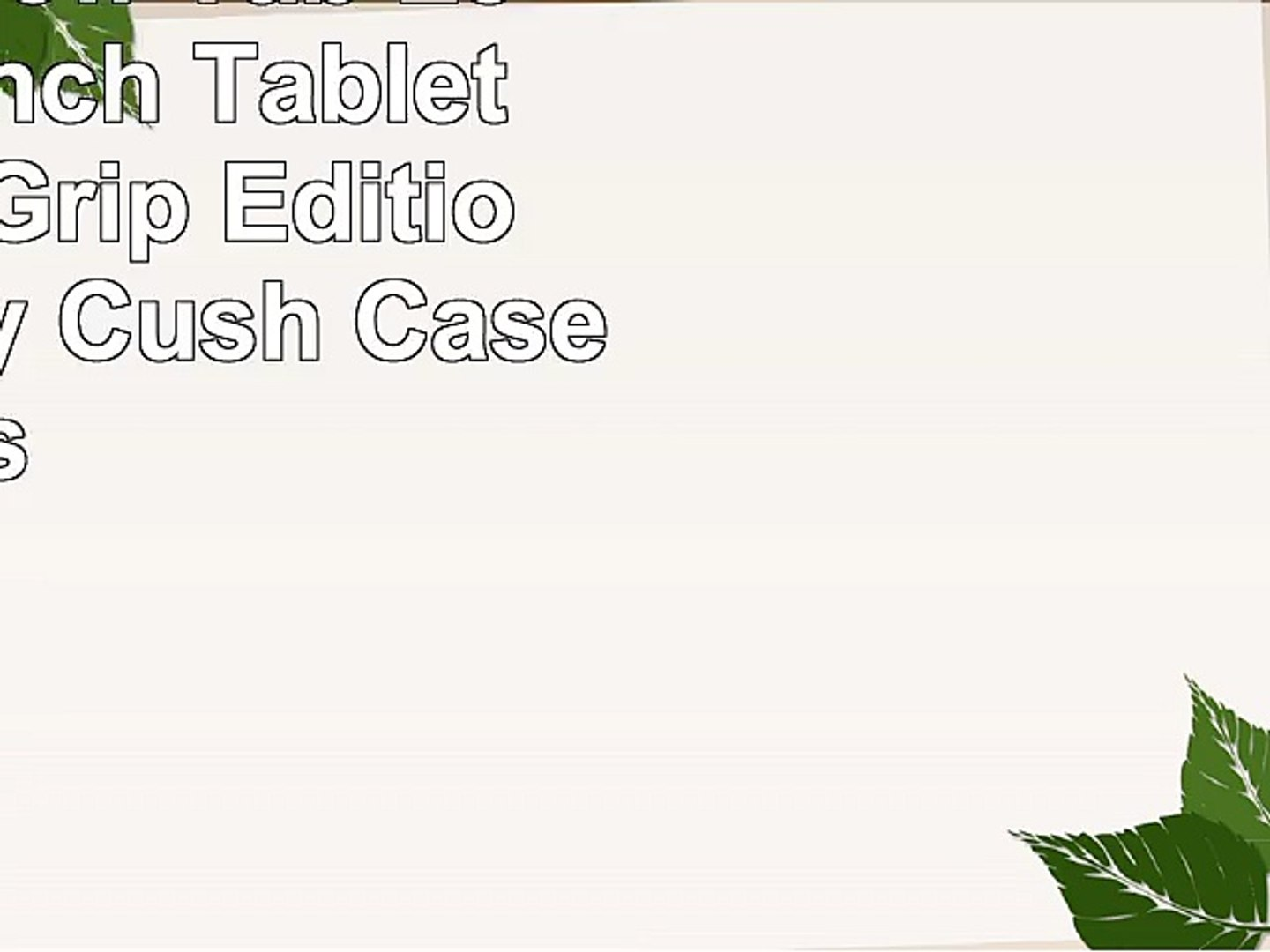 HOT PINK By Cush Cases UniGrip Edition ProntoTec A8 7 Inch Tablet Case