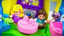 DISNEY PRINCESS RAPUNZELS TOWER Tangled Rapunzels Tower Toys Video