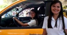 Yüksek Lisans Öğrencisi Fatma, Taksi Şoförlüğüyle Hayatını Kazanıyor