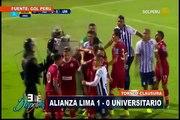 Alianza Lima venció 1-0 a Universitario por el Torneo Clausura