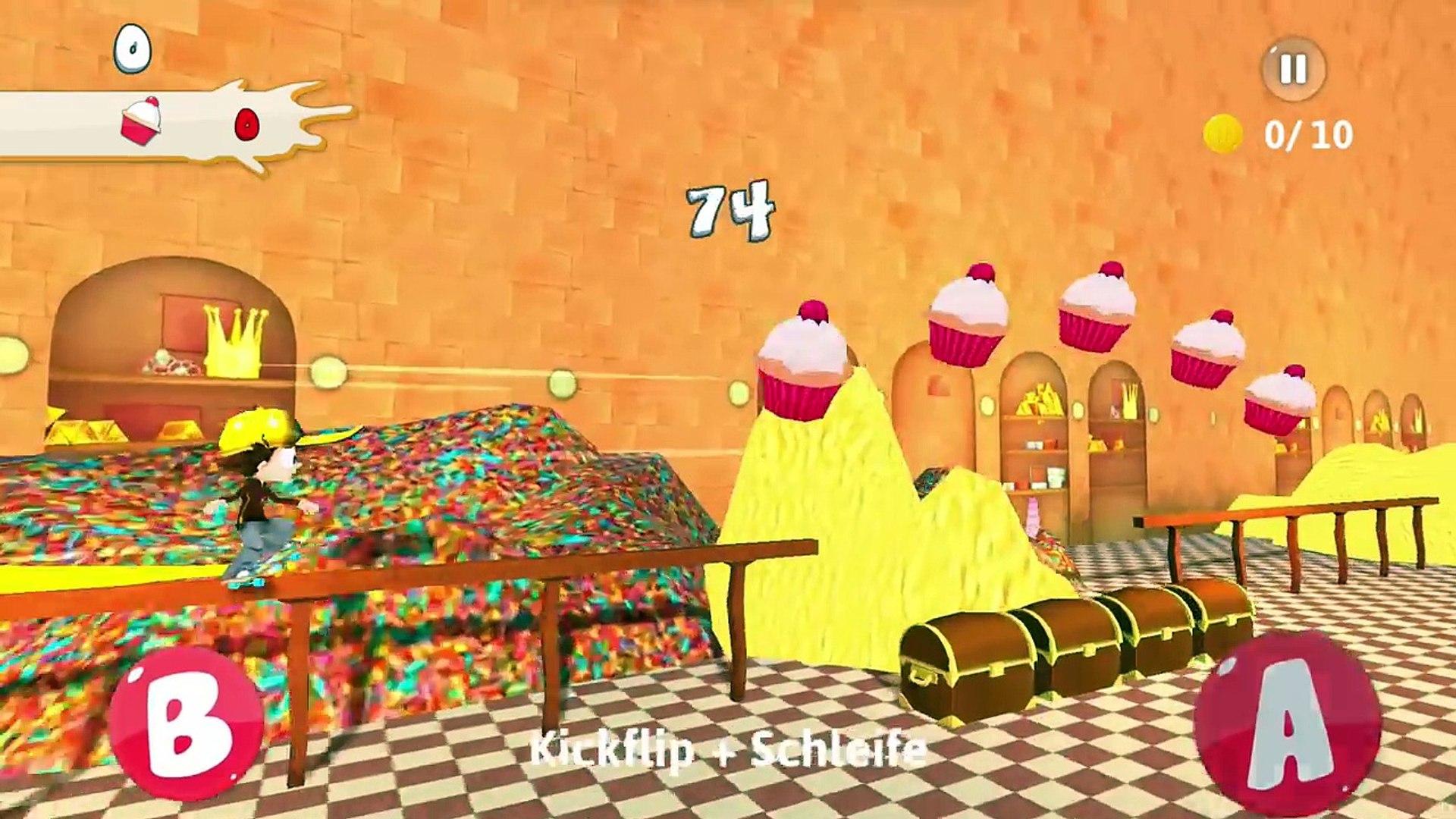 ANGELO SKATE AWAY #17 Deutsch App - KAAN WEINT! DAS KÜRZESTE ANGELO VIDEO?! Spiel mit mir Apps