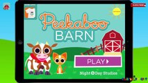 ✿★Peekaboo Barn✿★ Lovely app learning farm animal names for toddlers kids ipad android