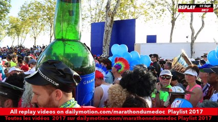Replay avant départ Marathon du Medoc 2017 / Before the start