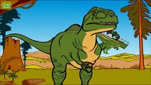 Giganotosaurus, a Huge Southern Lizard Dinosaur with English Sub ★Genikids Dinosaur