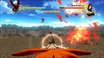 Bataille patron Carboniser orage ultime contre 2 Ninja mod Hokage Naruto Naruto Akatsuki Sasuke Taka