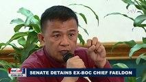 Senate detains Ex-BOC Chief Faeldon