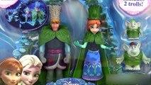 Reine des neiges Frozen Anna & Kristoff Doll Troll Wedding Set Pâte à modeler Poupées Magiclip