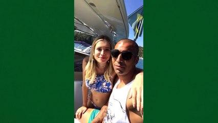 Emerson Sheik curte folga com namorada em iate | A Gazeta