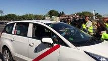 Cliente de taxi multado por ir sin cinturón de seguridad