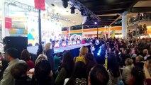 Deepo Alışveriş merkezi dans show, elif ve kurbağa dansı, eğlenceli çocuk videosu