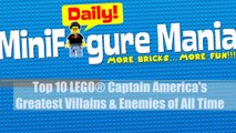 Top 10 LEGO® Captain Americas Greatest Villains & Enemies of All Time