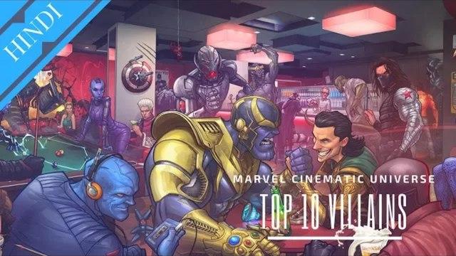 Top 10 MCU Villains _ Marvel Cinematic Universe_HD