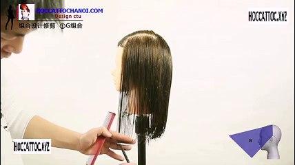 Video Dạy Cắt Tóc, Combination Design Cut Salon Work (Phần 1)