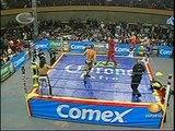 AAA-Sin Limite  2009.08.07  Zacapuaxtla  05 Alan Stone, La Parka & Marco Corleone vs. Los Wagner Maniacos