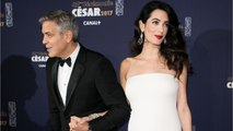 George Clooney Jokes That His Wife Watches His ER Episodes
