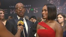 Angela Bassett Talks 'Black Panther', Courtney B. Vance Shares Update on Tom Cruise 'M:I 6' Injury