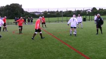 Tameside Striders v. Wakefield Wanderers Orange (mid-match)