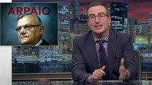 John Oliver Says Trump's Pardon of Joe Arpaio Sets Dangerous Precedent | THR News