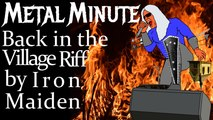 Back in the Village Riff by Iron Maiden • Mile High Shred Metal Minute