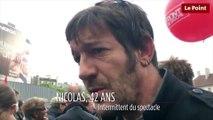 Manifestation du 12 septembre : Nicolas, intermittent du spectacle