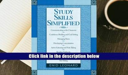 [Download]  Study Skills Simplified Enid Leonard For Ipad