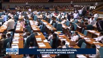 House budget deliberations, tatapusin ngayong araw