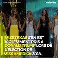 Miss Texas évoque Charlottesville et s'en prend à Donald Trump