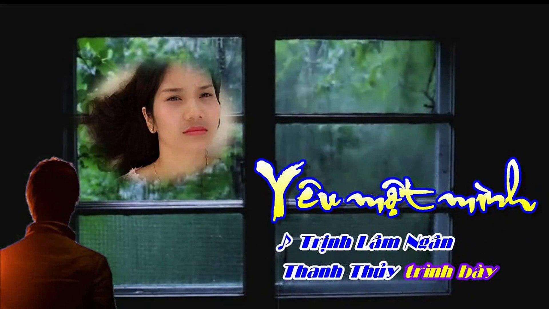 YÊU MỘT MÌNH - Sáng tác: Trịnh Lâm Ngân (Cover: Đào Thanh Thủy)