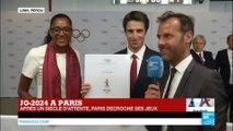 Paris, ville hôte des JO 2024 : Réactions de Marie-José Pérec et Tony Estanguet