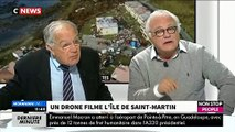 Invités de Morandini Live, Laurent Cabrol et Michel Chevalet se demandent si St Martin était bien préparé à Irma ?