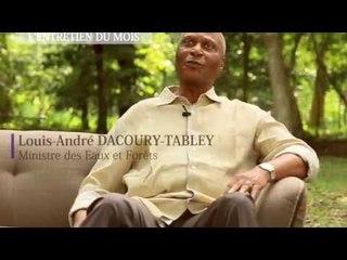 L'entretien du mois avec le ministre ivoirien des Eaux et Forêts, Dacoury Tabley