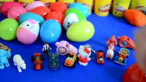 30 Surprise Eggs Play-Doh Kinder Surprise LPS Disney Cars Thomas And Friends Hello Kitty Spiderman