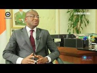 L'entretien du mois avec le Ministre ivoirien, Sidi Tiemoko TOURE.