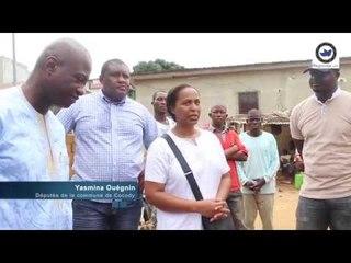Régionale.info / Pluies diluviennes à Abidjan : L'Honorable Yasmina Ouégnin aux côtés des sinistrés