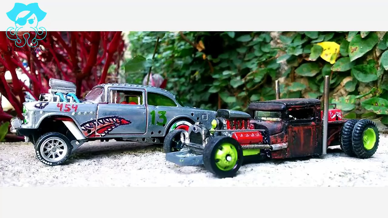 Hot Wheels – Como hacer un custom – Inspiración – 51 – How to make a hot wheels custom