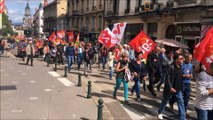 Bourg-en-Bresse : 1500 manifestants contre les ordonnances Macron