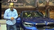 BMW X3 - Salon de Francfort 2017