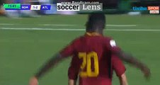 Keres Masangu  Goal HD - AS Roma U19 1-2 Atletico Madrid U19 - 11.09.2017 HD