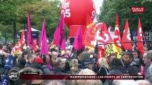 Manifestations: les points de la contestation